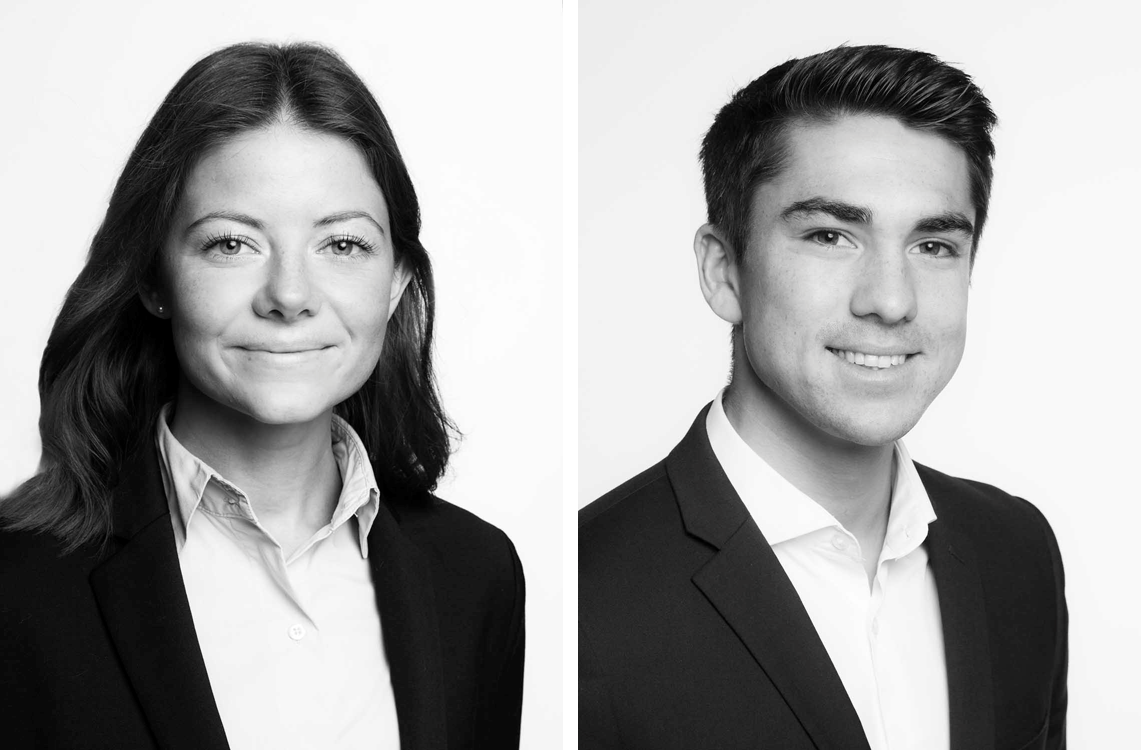 First two months on the job- Ingrid Leinum and Aksel Trygstad Lamache